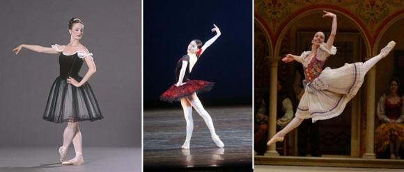 De izda a dcha: Julie Kent, Paloma Herrera y Xiomara Reyes, todas Bailarinas Principales del American Ballet Theatre que se retiran en 2015.